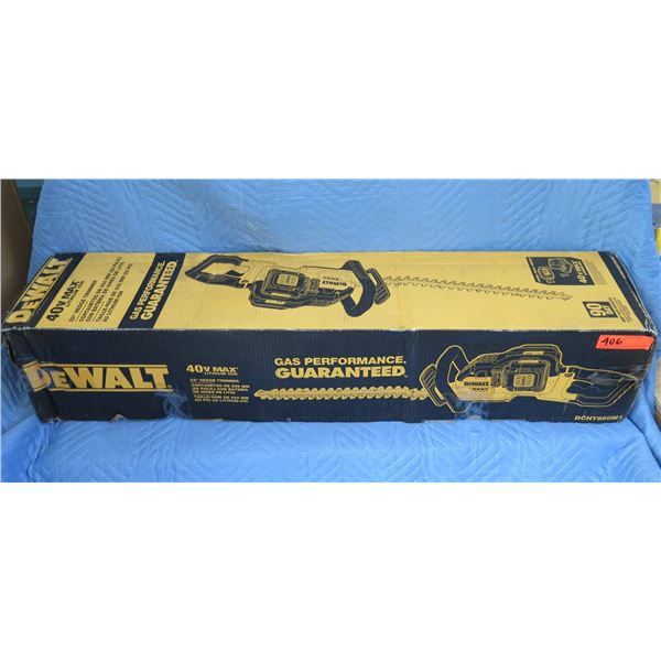 "DeWalt DCHT860M1 22"" Hedge Trimmer 40V Max New in Box"