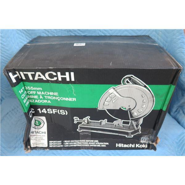"""Hitachi CC14SF 14"""" Cut-Off Machine Saw New in Box"""