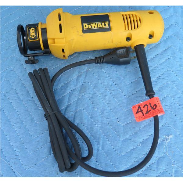 DeWalt DW660 Cut-Out Tool Type 3 120V AC 50/60 Hz