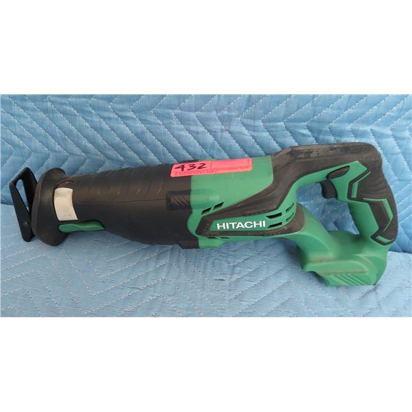 Metabo Hitachi CR18DBLP4 Cordless Reciprocating Saw 18V (Tool Only)