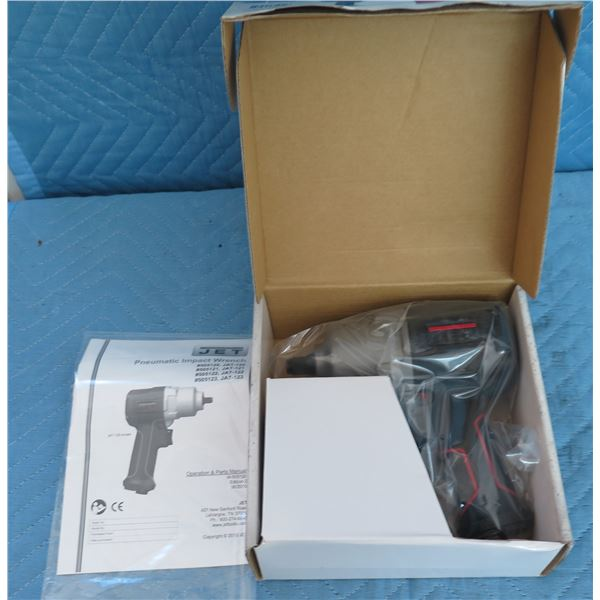 """Jet 505121 JAT-121 Impact Wrench 1/2"""" R12 New in Box"""