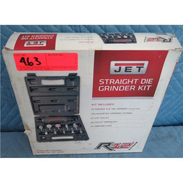 Jet 505404K JAT-404K Straight Die Grinder R12 Kit New in Box