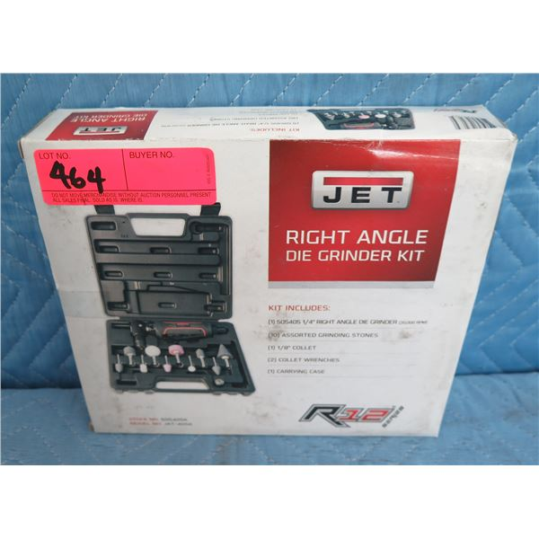Jet 505405K JAT-405K Right Angle Die Grinder R12 Kit New in Box