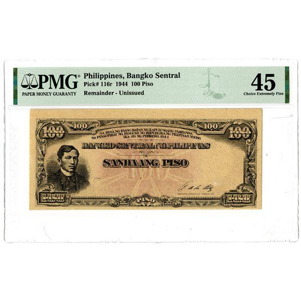 Bangko Sentral, 1944 Remainder Banknote