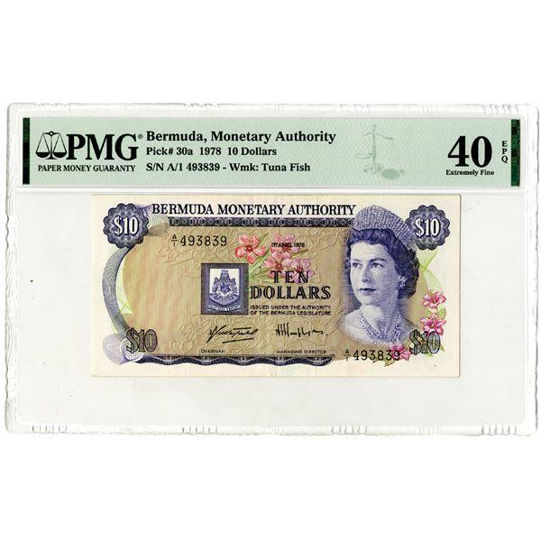 Bermuda Monetary Authority, 1978 Issued Banknote