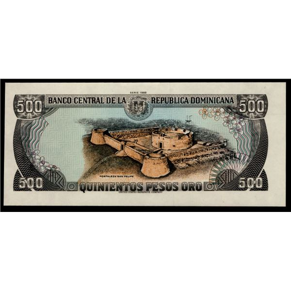 Banco Central de la Republica Dominicana Photographic Essay Proof Sheet.