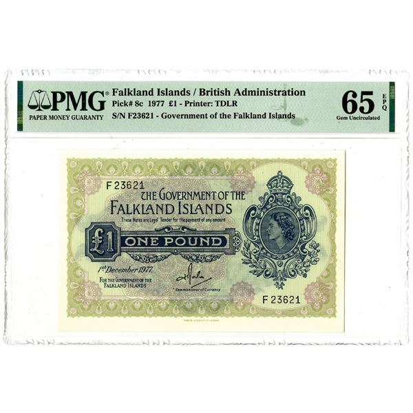 Government of the Falkland Islands, 1977 Issued Banknote