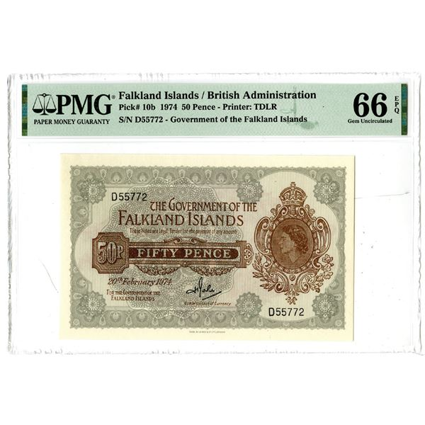 Government of the Falkland Islands, 1974 Issued Banknote
