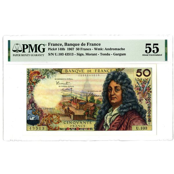 Banque de France, 1967 Issued Banknote