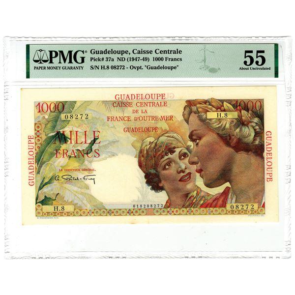Caisse Central de la France d'Outre-Mer, ND (1947-49) Issued Banknote
