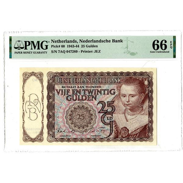 Nederlandsche Bank, 1943-44 Issued Banknote