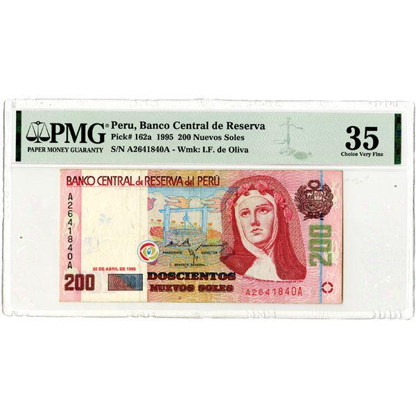 Banco Central de Reserve del Peru. 1995 Issued Banknote