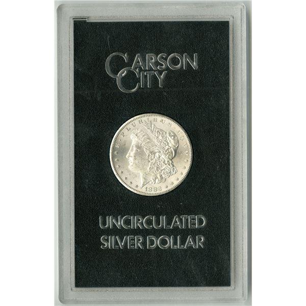 Carson City, Nevada, 1882 CC, GSA Uncirculated Silver Morgan Dollar