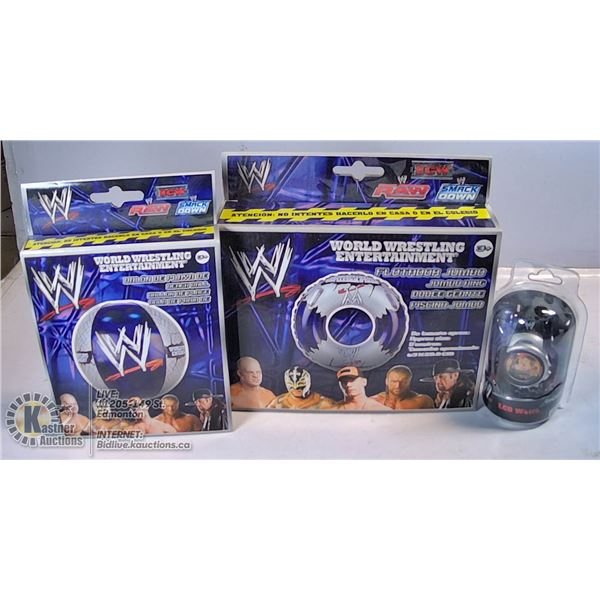 2 NEW SEALED WWE LCD WATCHES