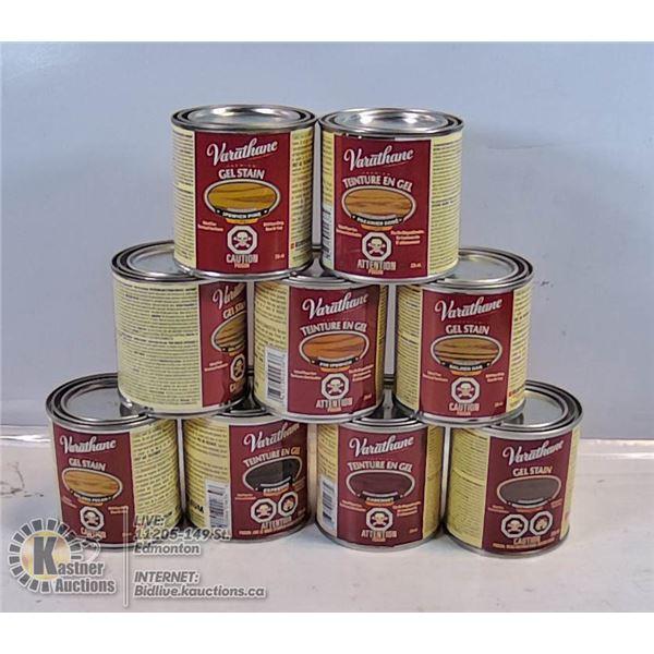 NEW 10 VARATHANE 236 ML CANS