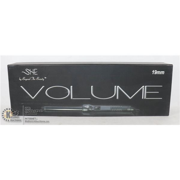 SHE VOLUME CURLING IRON 19MM