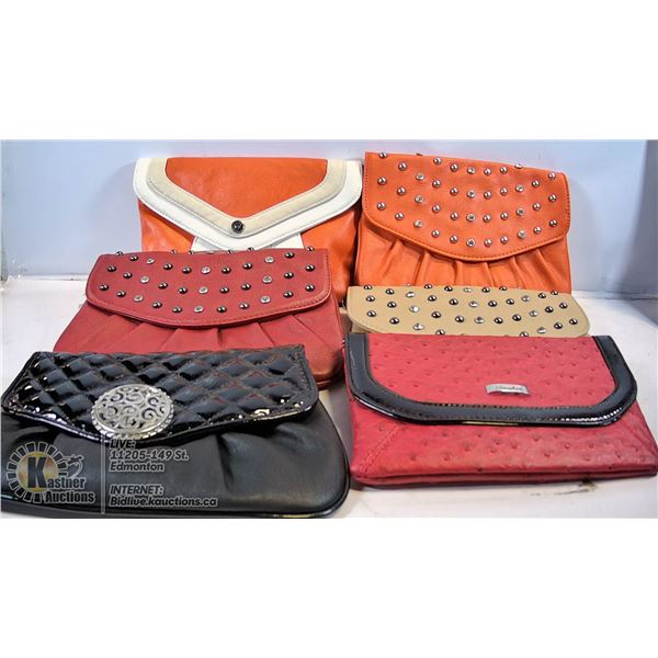 SMALL LEATHER PURSES (NEW)