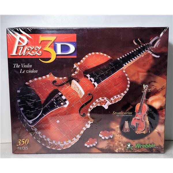 5)  FACTORY SEALED 350 PCE 3D PUZZLE