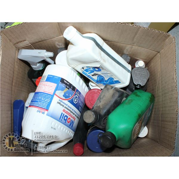 OILS & LUBRICANTS FOR VEHICLES