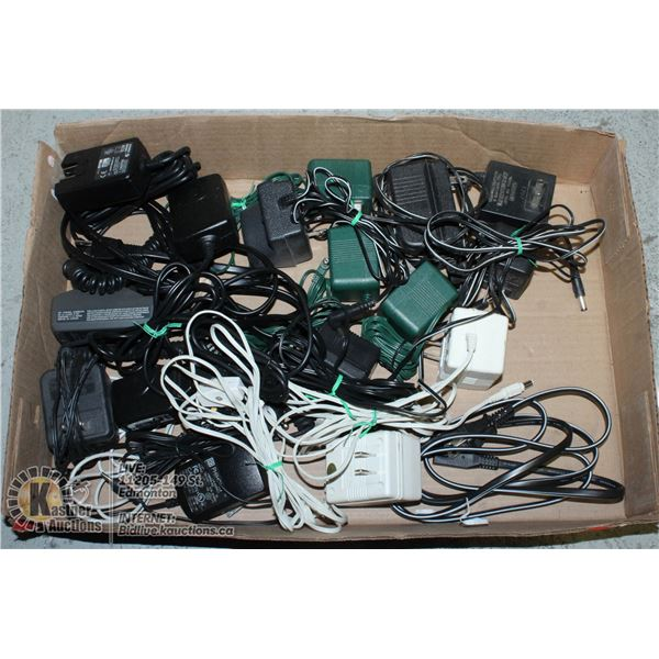 MISC CABLES AND PHONE CHARGERS