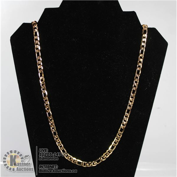 MENS GOLD PLATED CHAIN.