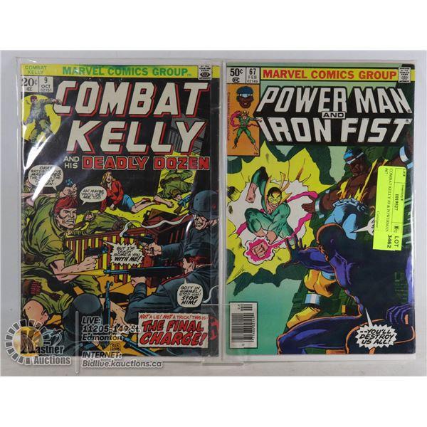 COMBAT KELLY #9 & POWERMAN #67