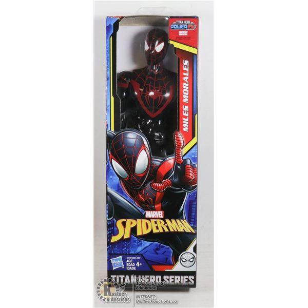 MARVEL SPIDERMAN TITAN HERO MILES MORALES FIGURE