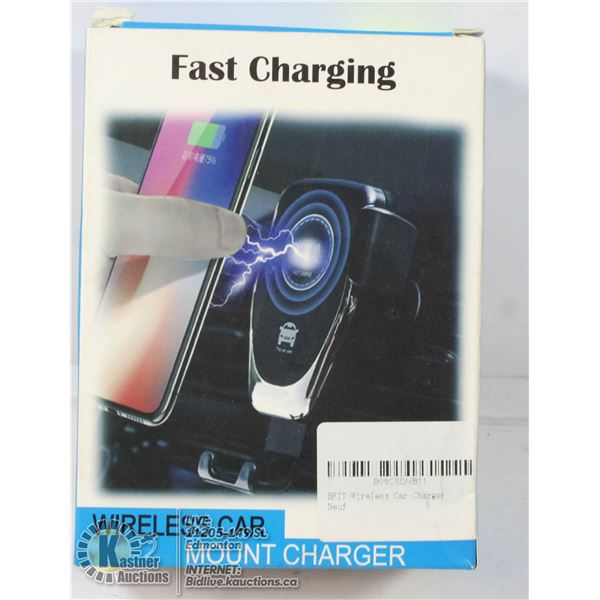 FAST CHARGING WIRELESS CAR MOUNT CHARGER