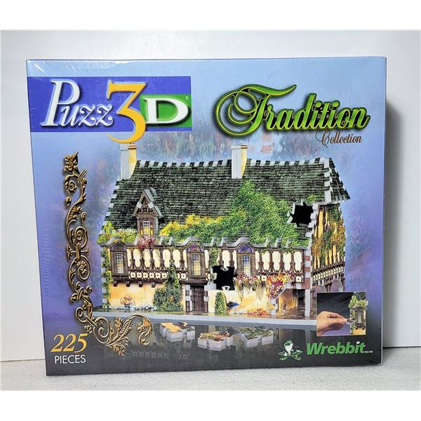 4)  FACTORY SEALED 225 PCE 3D PUZZLE