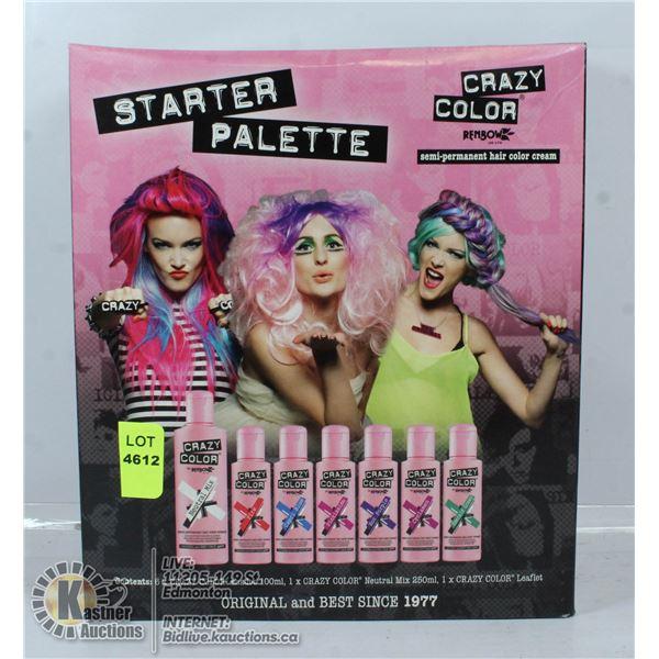 CRAZY COLOR STARTER PALLET SEMI PERMANENT HAIR