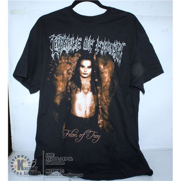 CRADLE OF FILTH BAND T-SHIRT SIZE ADULT L