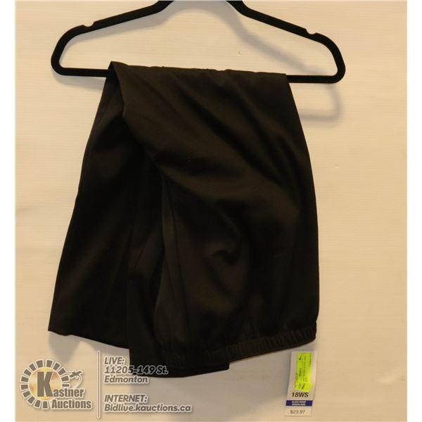 ALIA BLACK WOMEN PANTS 18WS BRAND NEW,