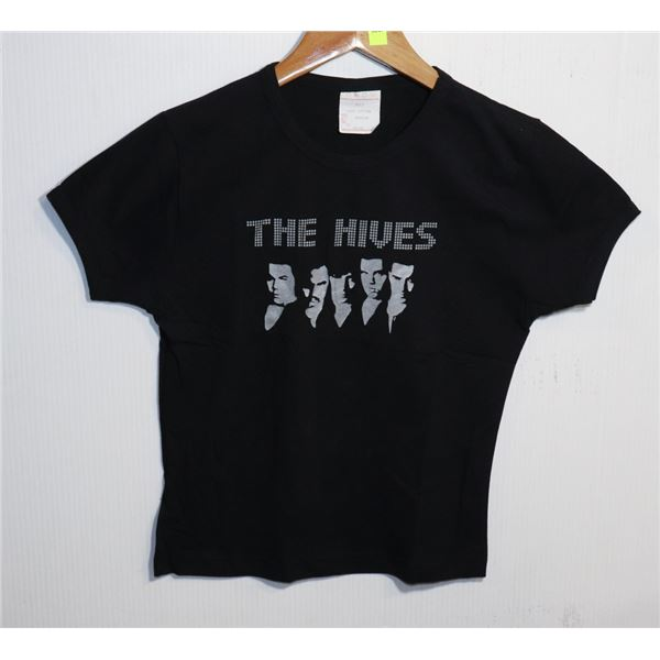 THE HIVES BELLY T-SHIRT SIZE WOMENS MEDIUM