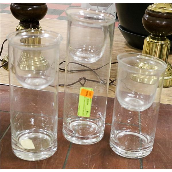 PARTY LIGHT TRIO CANDLE HOLDER SET