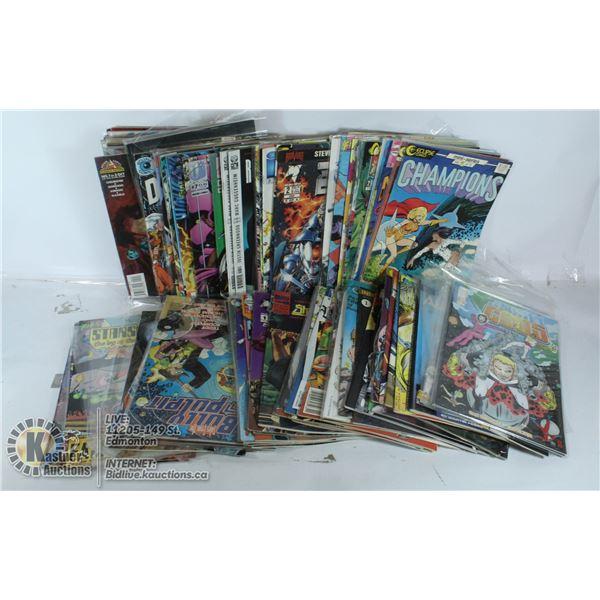BOX OF COMICS
