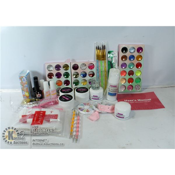 MOROVAN PROFESSIONAL NAIL ART KIT INCLUDES ALL