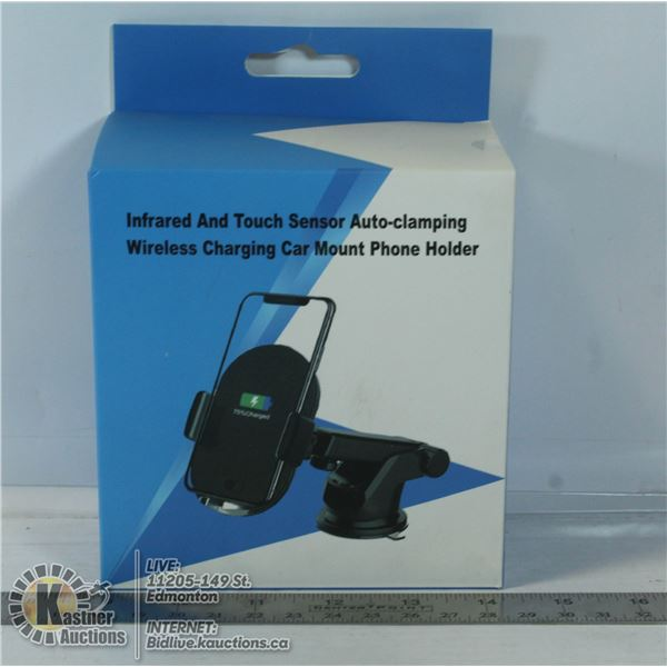 INFRARED AND TOUCH SENSOR AUTO-CLAMPING WIRELESS
