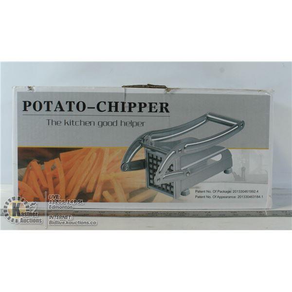 POTATO-CHIPPER (MAKES FRENCH FRIES)