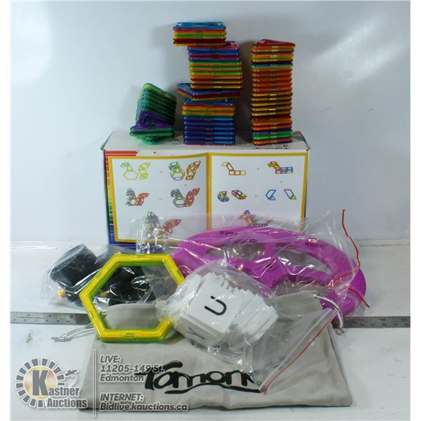TOMONS MAGNETIC BLOCK TOY FOR KIDS