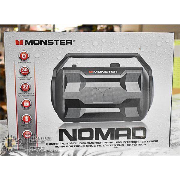 NOMAD MONSTER INDOOR/OUTDOOR SPEAKER