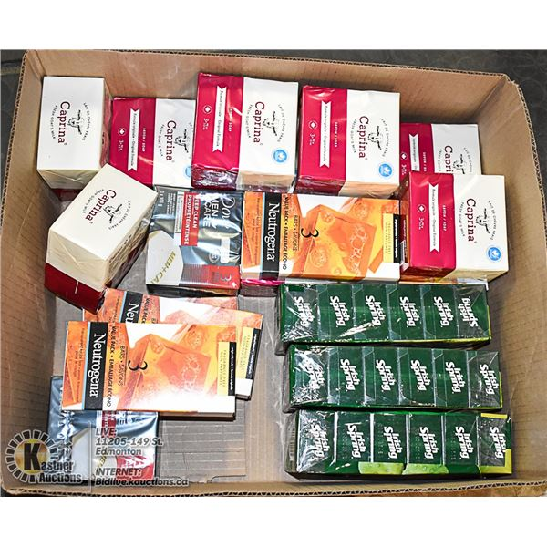 ASSORTED BOX OF SOAP