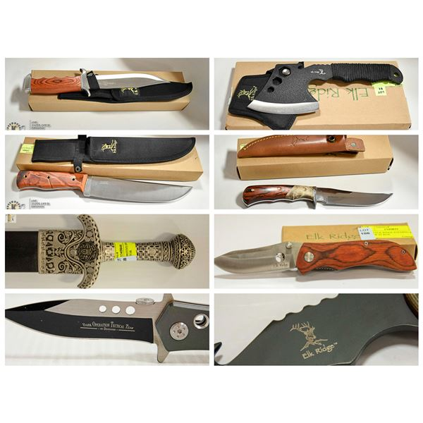 FEATURED KNIFES AND SWORDS