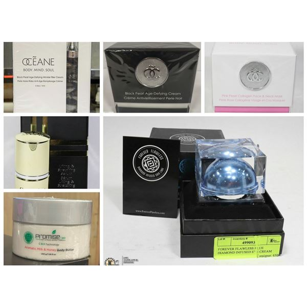 FEATURED SERUMS, CREAMS AND MASKS