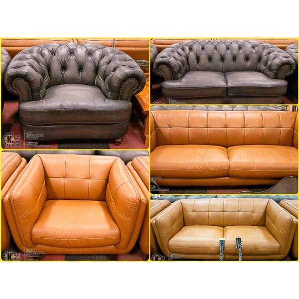 FEATURED GENUINE LEATHER FURNISHINGS