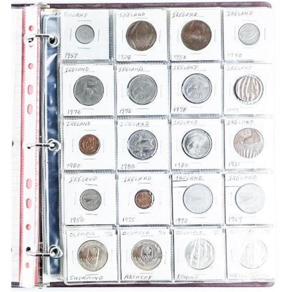 Estate Binder - World Coins