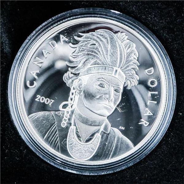 RCM 2007 Proof Silver Dollar