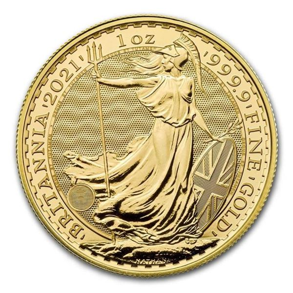 Royal Britannia .9999 Fine Gold Round. 1oz  Actual Gold Weight. Very Collectible. (Tax  Exempt). Ava