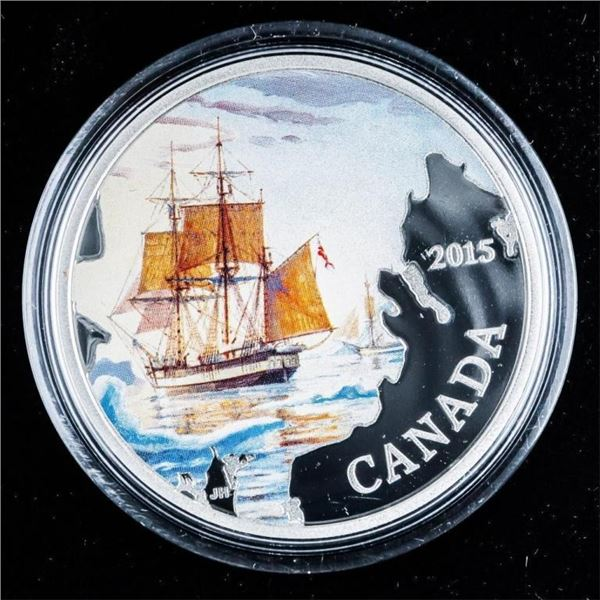 RCM 2015 Franklins Lost Expedition $20 .9999  Fine Silver