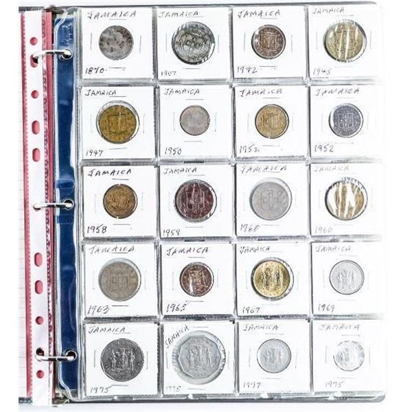 Estate Binder Lot - World Collection of Coins