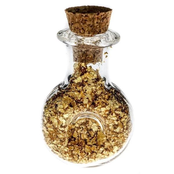 Vial of .9999 Pure Gold (2ml)